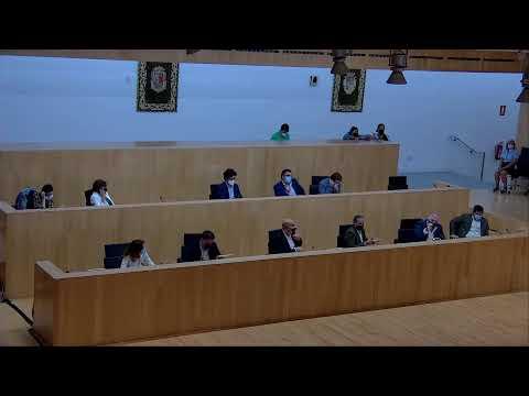 Pleno ordinario de la Diputación de Málaga. Septiembre de 2021