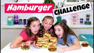 The hamburger challenge brooklyn and bailey