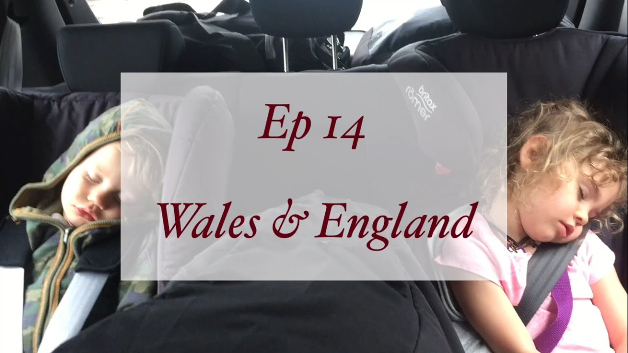 Ep 14: Fairy Tale Castles in Wales & Henley's Birthday in Henley on Thames