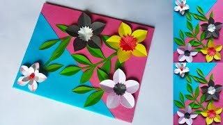 How To Make Paper Flowers Easy Step By Step Beautiful Paper