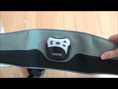 Unboxing and Review: Sanitas SEM 35 EMS toning belt