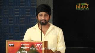 Thiru and Iniya at  Naan Sigappu Manithan Press Meet