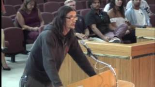 Mike Kimberl Takes Council to Task Regarding Homeless at Public Forum Oct  13, 2016