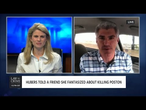 Aaron Keller Reports from the Shayna Hubers Trial  on Law & Crime Network 08/16/18