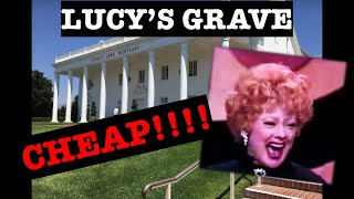 Lucille Ball Lucys CHEAP Grave! Exhumed! Star Wars Ronnie James Dio  Scott Michaels Dearly Departed