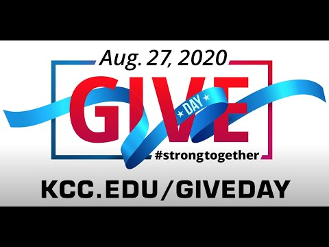 Give Day logo Aug. 27, 2020 #strongtogether