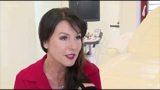 Martina Jandova on removal of varicose veins using special glue at YES VISAGE Clinic