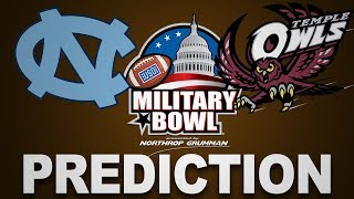 2019 Military Bowl College Football Prediction