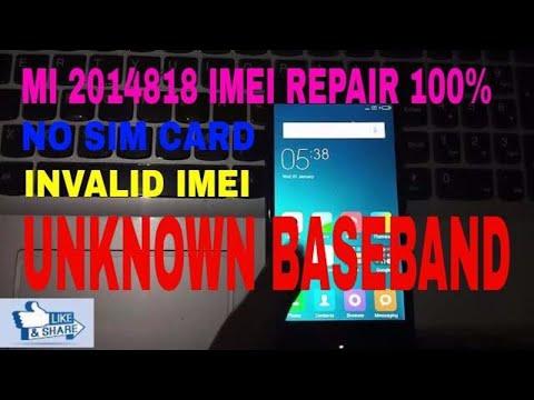Mi redmi xaomi invalid imei baseband unknown qcn file