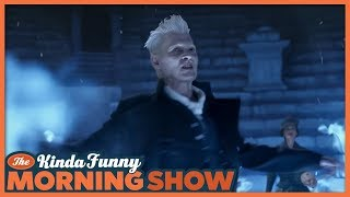 Fantastic Beasts 2 Final Trailer Reacts - The Kinda Funny Morning Show 09.25.18