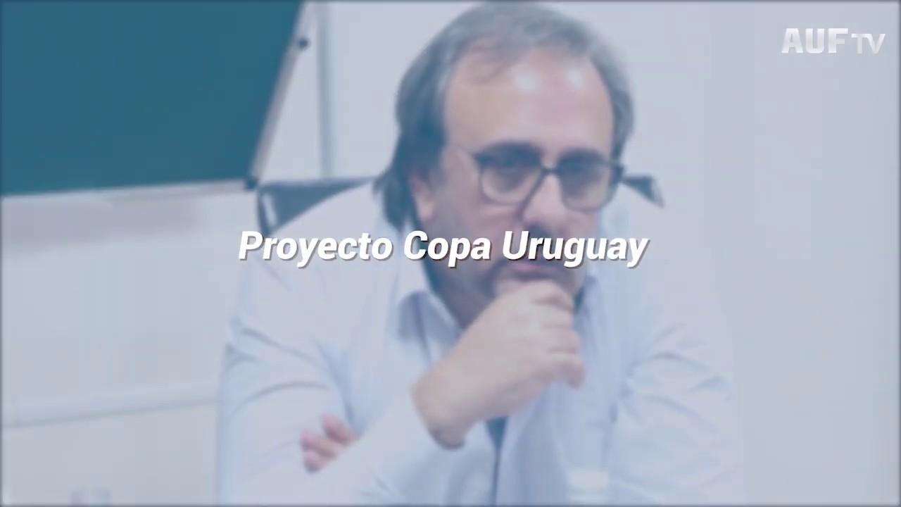 El proyecto Copa Uruguay - Entrevista a Jorge Casales (AUF) y Sebastián Sosa (OFI)