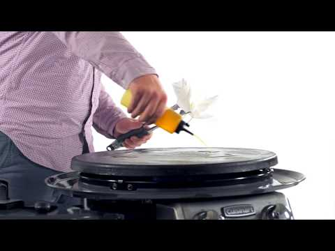 How to season your Cuisinart 360 Degree Griddle Cooking Center