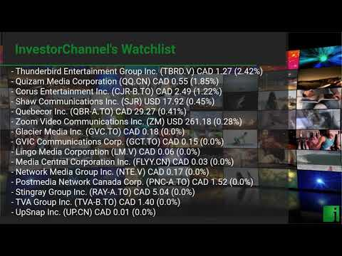 InvestorChannel's Media Watchlist Update for Wednesday, Ju ... Thumbnail