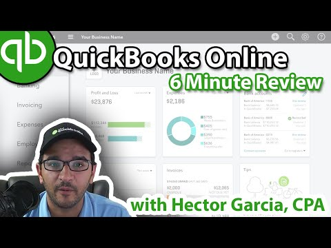 QuickBooks Online in 6 Minutes (Review & Tutorial)