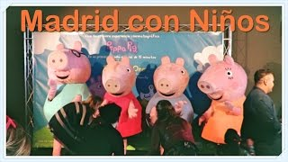 Madrid con niños - peppapig