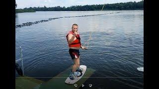 06.07.18 XS РУЛИТ:) Днепр Sentosa Cable Park тренеровка на Вейкборде:)