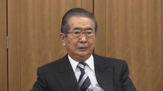 猪瀬都知事に辞任を勧める石原慎太郎・前都知事が会見