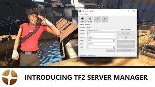 TF2 Server Tutorial: Introducing TF2 Server Manager