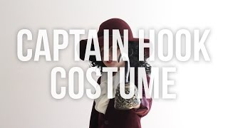 Disney's Captain Hook No Sew Halloween Costume For Kids