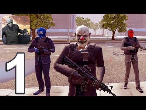 Armed Heist - Gameplay Walkthrough Part 1 (iOS)
