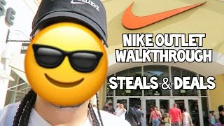 Nike Outlet VLog Clearance Store March 2017 & JIGS
