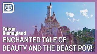 The Enchanted Tale of Beauty and the Beast Full Ride POV & Queue Tour - Tokyo Disneyland