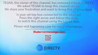 TEGNA, the owner of this channel has removed it from DIRECTV
