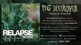 """PIG DESTROYER - """"Red Tar"""" (Official Track)"""
