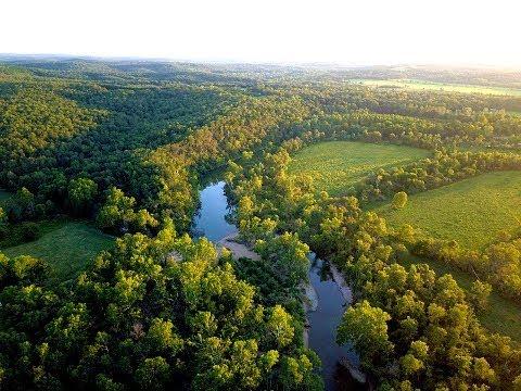 Beautiful 177 Acre Gasconade River Farm For Sale in Laquey MO