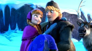 Disney's Frozen - Anna Climbing the Mountain