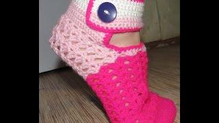 Носки крючком