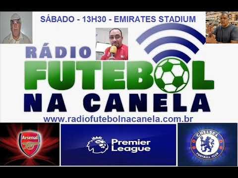 Emoção do Rádio: Ouça os gols do clássico Arsenal 3x1 Chelsea