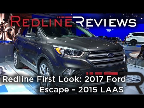 2017 Ford Escape – Redline: First Look – 2015 Los Angeles Auto Show