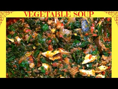 How To Cook Vegetable Soup