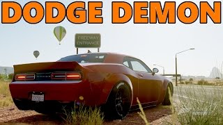 Forza Horizon 3 | How to build YOUR OWN Dodge DEMON!!