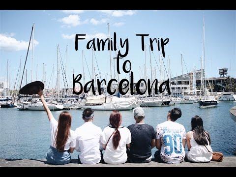 Family Trip to Barcelona