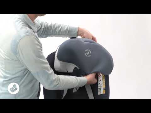 Maxi-Cosi l Pearl Smart i-Size car seat l How to remove and replace the cover