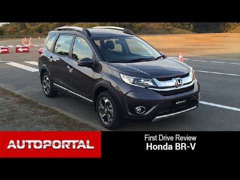 Honda BR-V First Drive Review - Auto Portal