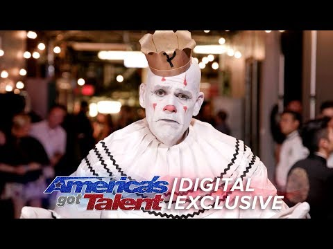 Elimination Interview: Puddles Pity Party Bids Farewell - America's Got Talent 2017 (видео)