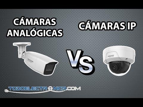 6 Diferencias entre cámaras analógicas y cámaras IP