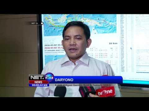 Pasca Gempa Di Padang BMKG Mencabut Peringatan Tsunami - NET24