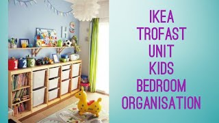 Ikea Trofast System Organising Kids Bedroom