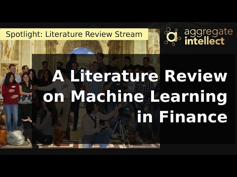 A Literature Review on Machine Learning in Finance