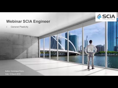 Webinar - Plasticity in steel plates and shells with SCIA Engineer