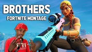 "Fortnite Montage   ""BROTHERS"" (Lil Tjay)"
