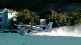 preview picture of video 'Seaborne Seaplane flight from St. Thomas to Sct. Croix'