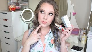 Josie Maran Vibrancy Foundation | First Impressions & Wear Test