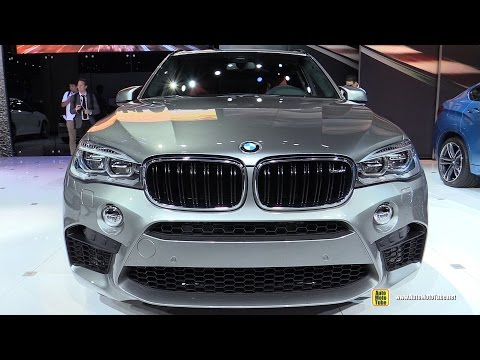 2015 BMW X5 M - Exterior and Interior Walkaround - Debut at 2014 LA Auto Show