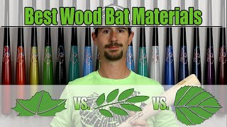 Best Material for Wood Baseball Bats