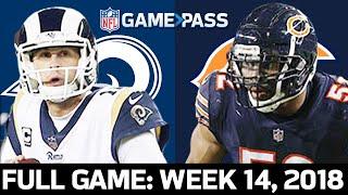 Los Angeles Rams vs. Chicago Bears Week 14, 2018 FULL Game